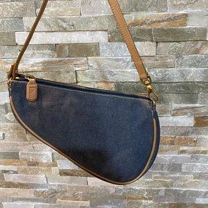 ❤️🔥sold❤️🔥Dior Denim Mini Saddle bag